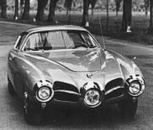 1952 Abarth 1500 Biposto Coupe