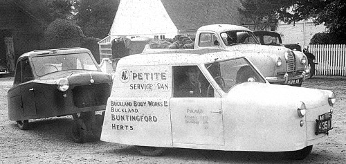 1952 AC Petite at Buckland factory