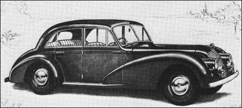 1952 AC saloon 4dr