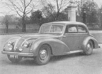 1952 AC sedan