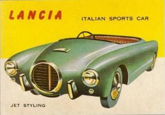 1952 LANCIA Ad