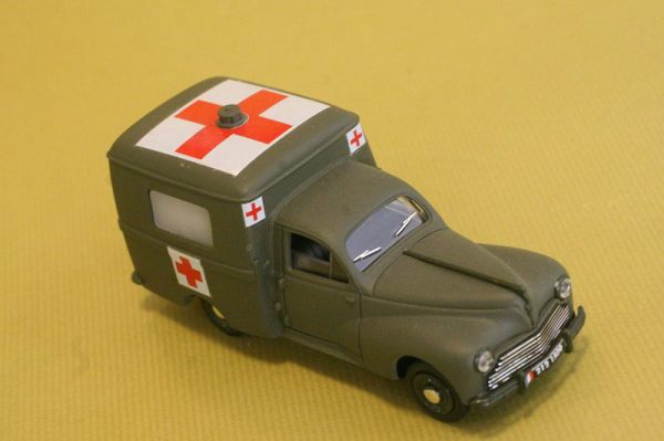 1952 Peugeot 203 Ambulance