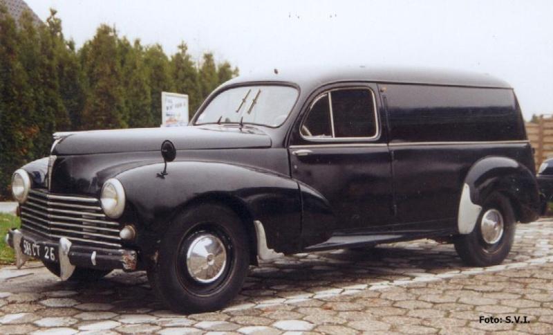 1952 peugeot 203fou10 hearse