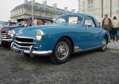 1952 simca 9 sport