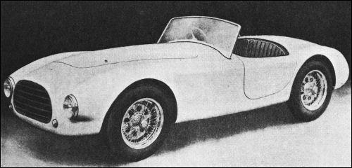 1953 AC ace prototype