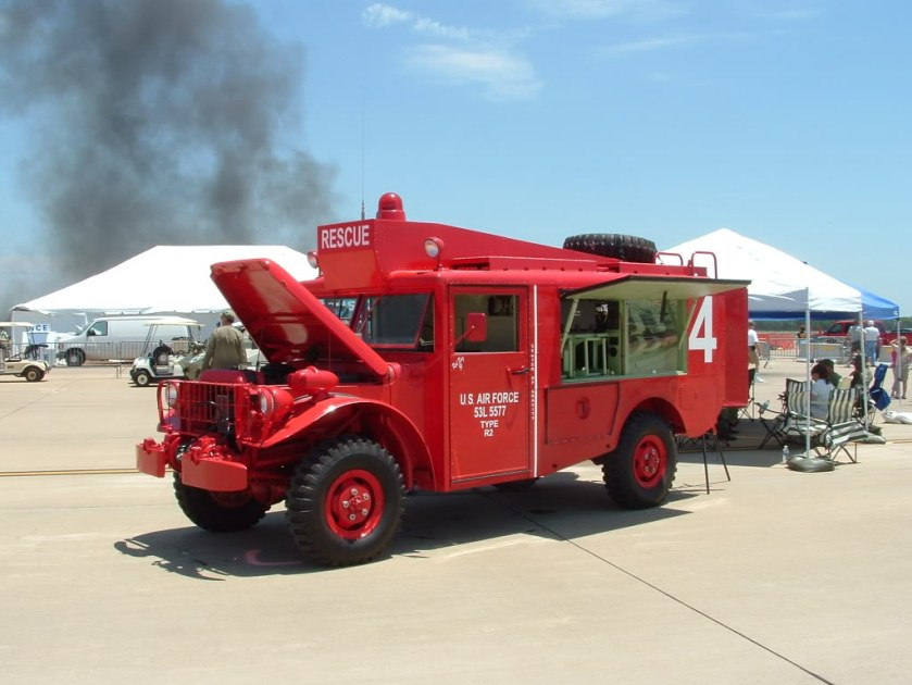 1953 ACF Brill M56 R2 Dodge Emergenancy Crash Truck a
