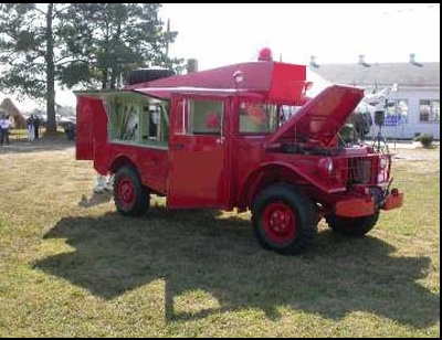 1953 ACF Brill M56 R2 Dodge Emergenancy Crash Truck b