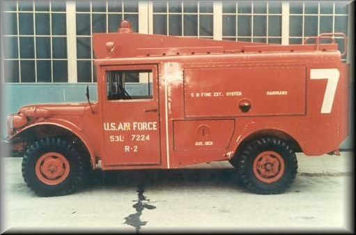 1953 ACF Brill M56 R2 Dodge Emergenancy Crash Truck c