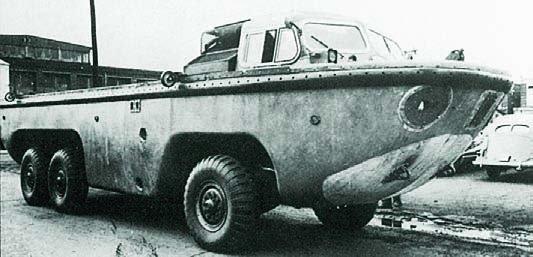 1953 Brill ХМ148 Gull, 6x6