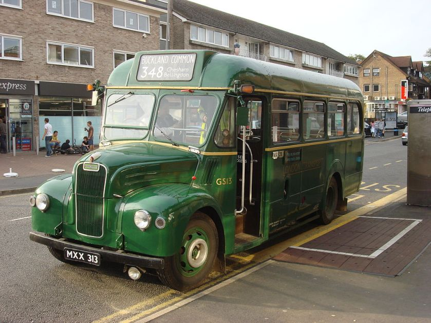 1953 Guy GS bus built for London Transport