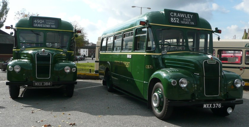 1953 Guy Vixen London Transport GS84 and GS76