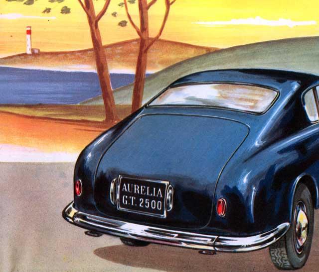 1953 lancia auralia gt2500-rv