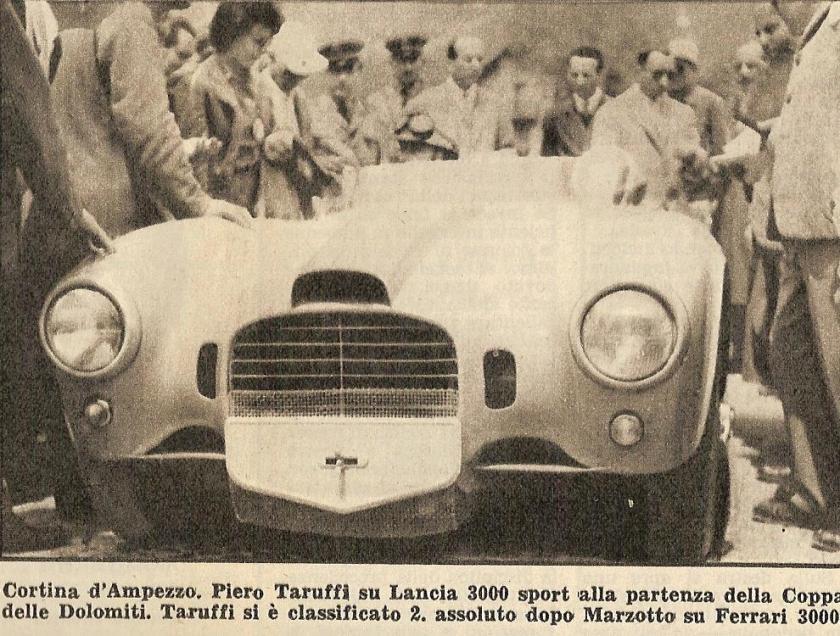 1953 Lancia Dolomiti Taruffi