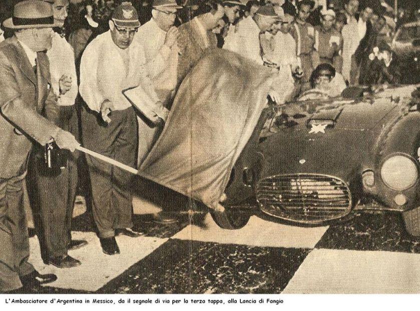 1953 Lancia Fangio Carrera