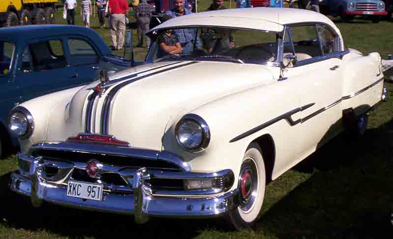 1953 Pontiac Chieftain Catalina a