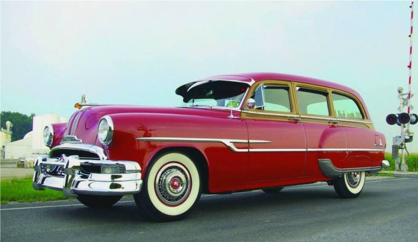 1953 Pontiac Chieftain De Luxe Station Wagon