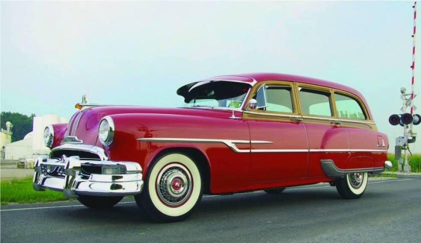 1953 Pontiac Chieftain De Luxe Station Wagon