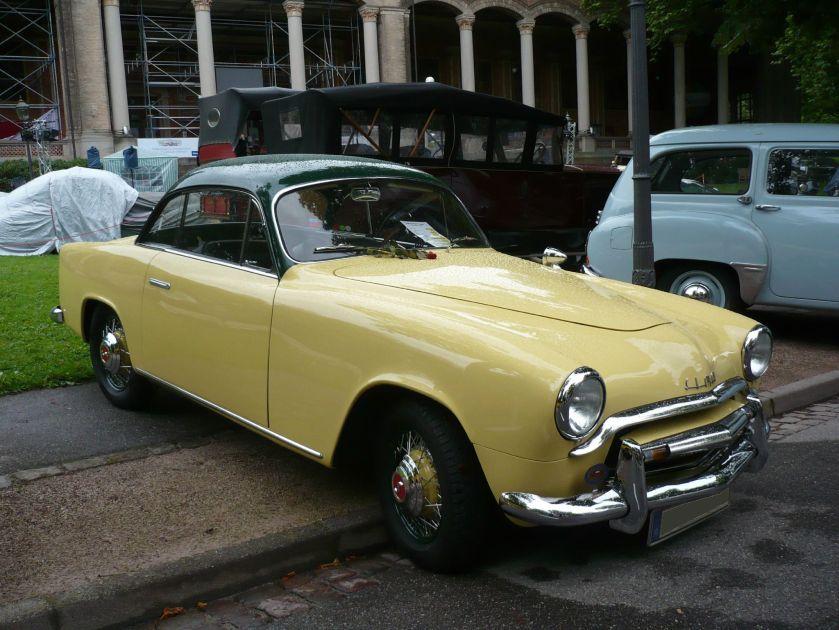 1953 SIMCA 9 Sport coupé Baden Baden