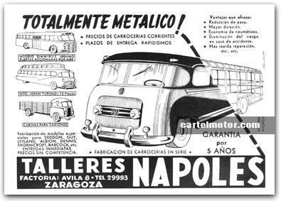 1953 TALLERES NAPOLES BUS (NAZAR)