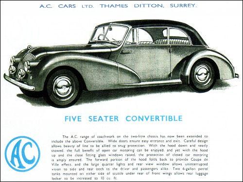 1954 AC 2litre convert