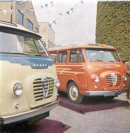 1954 Alfa Romeo press intro