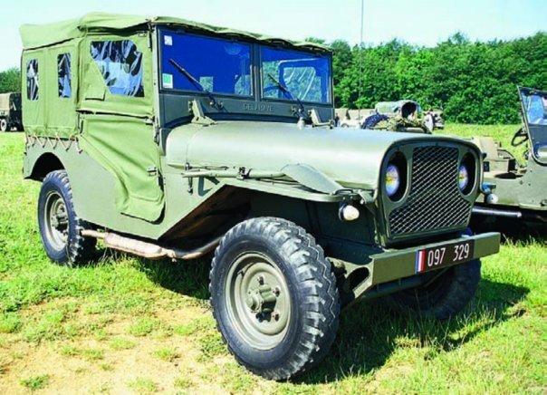 1954 Delahaye VLR, 4x4.