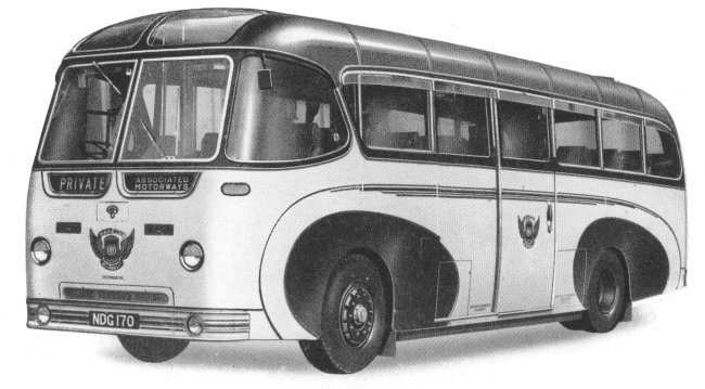 1954 Guy Arab Lighteight heavy duty underfloor engined coach
