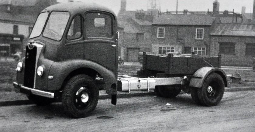 1954 Guy Otter Chassis