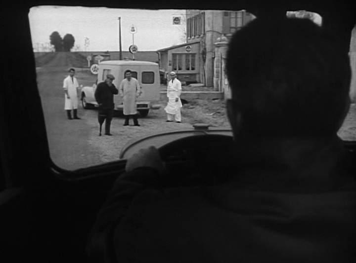 1954 Peugeot 203 Ambulance 'Paquet de tabac'
