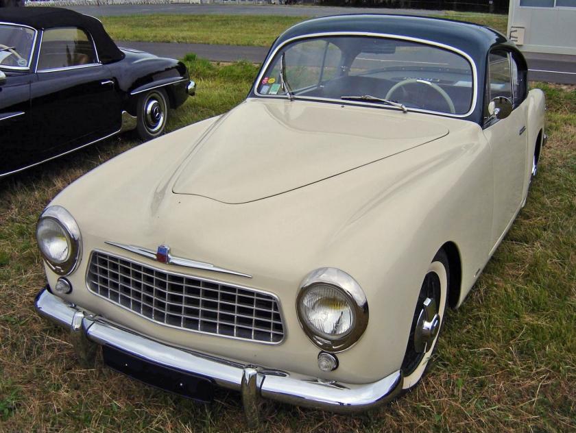 1954 Simca 9 Sport Figoni & Falaschi