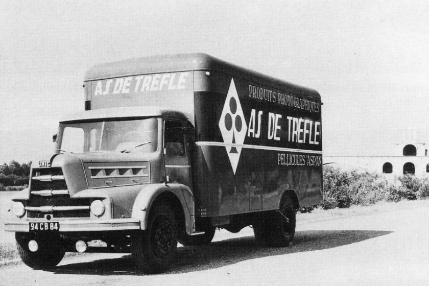 1954 UNIC ZU 66 4 cyl