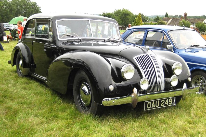 1955 AC 2-litre 2-door Essex