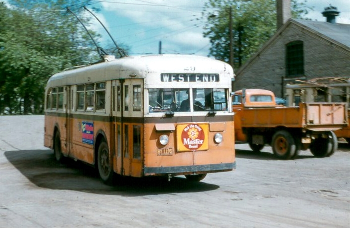 1955 brill trolley