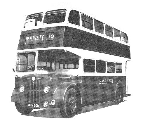 1955 Guy Arab Mark IV East kent Road car Company Limited 31