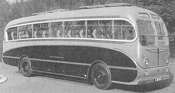 1955 Guy Warrior LUF Coach 3