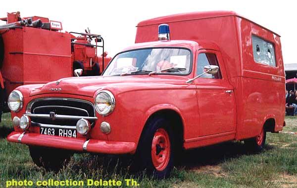 1955 peugeot 403 ambulance T
