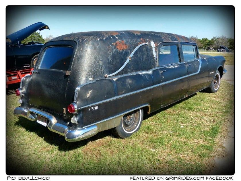 1955 Pontiac National Hearse