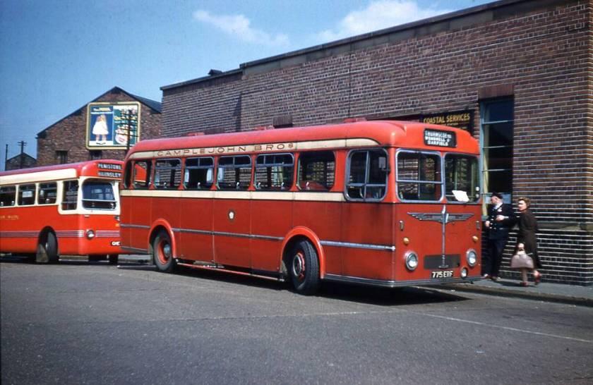 1955 Sentinel SLC6 with Burlingham B44F body