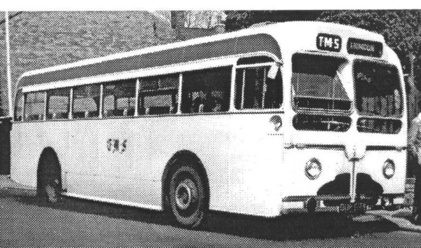 1955 Sentinel STC6-44 Sentinel B44F seats