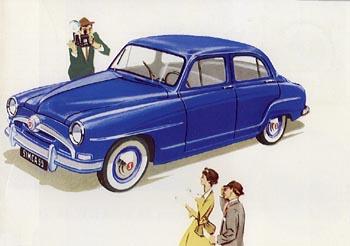 1955 simca aronde-b