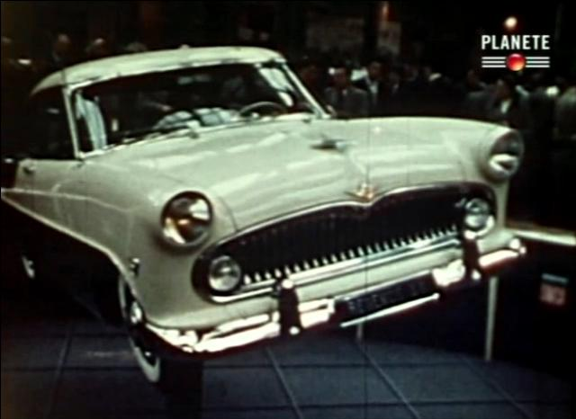 1955 Simca Vedette Régence