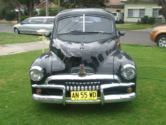 1956 HOLDEN FJ Hearse