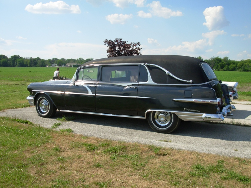 1956 Pontiac Hearse