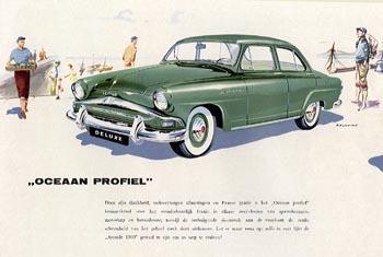 1956 simca aronde 1300a