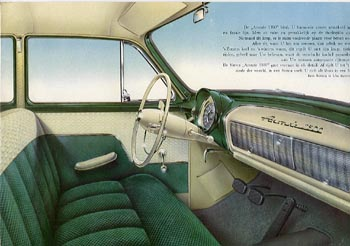 1956 simca aronde 1300d