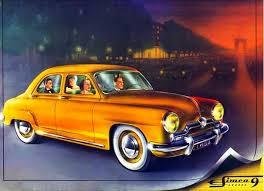 1956 Simca Aronde Ad