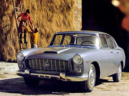 1957-63 Lancia Flaminia berlina