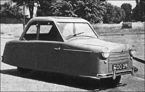 1957 AC petite mk II