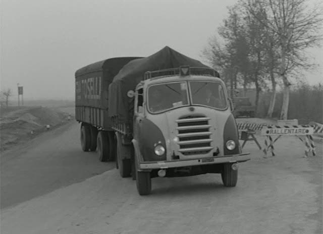 1957 Alfa Romeo 900 in Il grido, Movie.