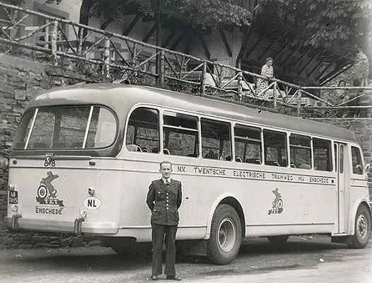 1957 Guy Arab Toerwagen 88  met carrosserie van Verheul
